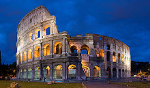 Coliseu de Roma, Itália