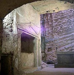 Catacumbas de Kom el Shoqafa, Alexandria, Egito