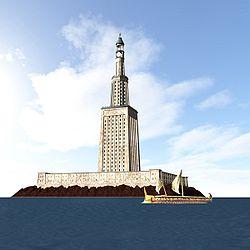 Farol de Alexandria, Egito