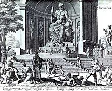 Estátua de Zeus em Olímpia na Grécia