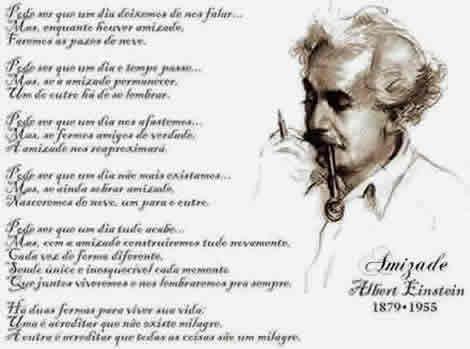 Amizade de Albert Einstein