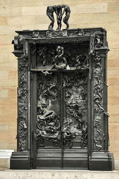 François Auguste René Rodin, Porta do Inferno