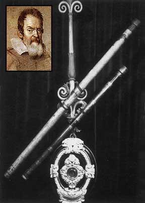 Primeira Lunetas Utilizadas por Galileu