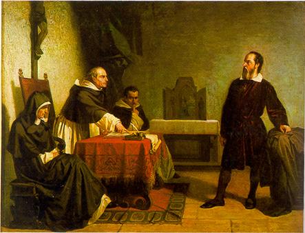 Galileu Encarando a Inquisição