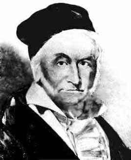 Johann Carl Friedrich Gauss 1777-1855