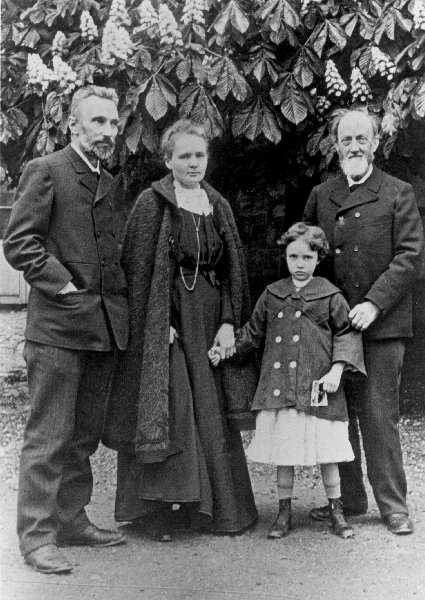 Família de Marie Curie