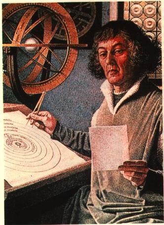 O Heliocentrismo de Copérnico - Pintura de Jean-Leon Huens