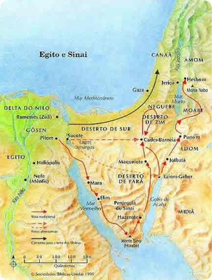 Egito e Monte Sinai