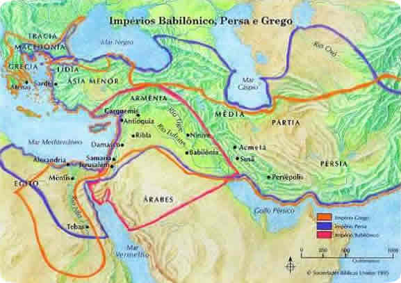 Império Babilônico, Persa e Grego
