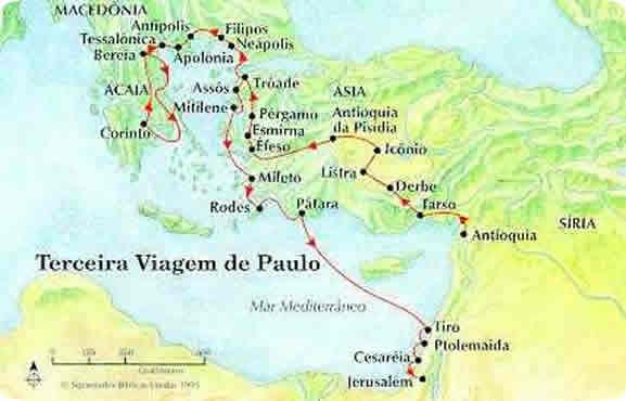 Terceira Viagem de Paulo