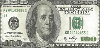 100 Dólares Americanos - Estados Unidos-USD