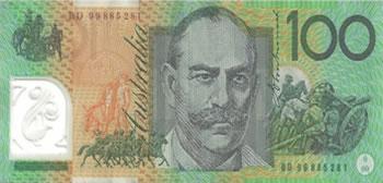100 Dólares Australianos - Austrália-AUD
