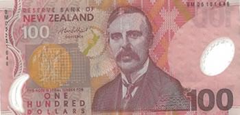 100 Dólares Neozelandeses - Nova Zelândia-NZD