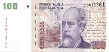 100 Pesos Argentinos - Argentina-ARS
