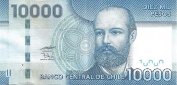 10000 Pesos Chilenos - Chile-CLP