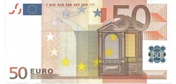 50 Euros - Europa-EUR