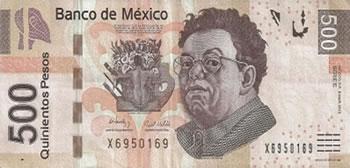 500 Pesos Mexicanos - México-MXN