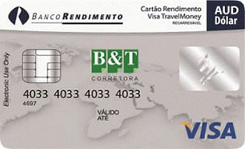 Visa Travelmoney - Dólar Australiano-AUD