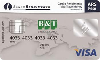 Visa Travelmoney - Peso Argentino-ARS